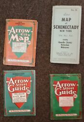 Lot Of Vintage Street Directories And Maps Of Schenectady Ny From 1946 To 1968
