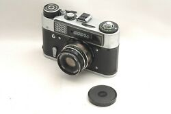 @ Ship In 24 Hrs @ Fed-5c Russian Film Rangefinder Camera Induster-61 55mm F2.8