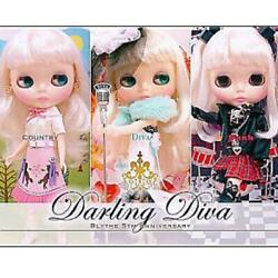 Neo Blythe Darling Diva Cwc Limited 5th Anniversary Doll Free Shipping From Jpn