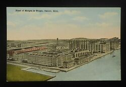 1910s Aerial View Morgan And Wright United States Tires Plant Detroit Mi Wayne Co