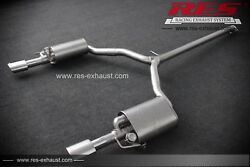 Res Valvtronic Catback + 1 Tailpipes Each Side For Kia K5 1.6t/2.0/2.0t/2.4