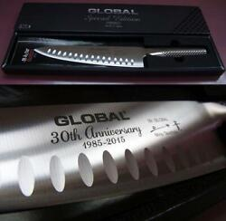 Global Mino Tsuchida Limited 30th Anniversary Kitchen Knives From Japan F/s