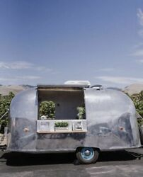 Fully Self-Contained and Turnkey Traveler Airstream Mobile Bar with Restroom for