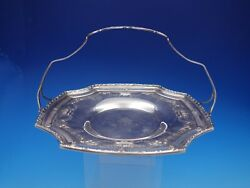 Basket Of Fruit By Frank Whiting Sterling Silver Tidbit Tray With Handle 4398