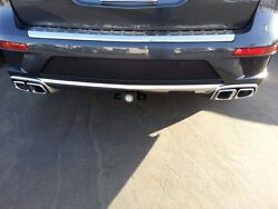 Mercedes Benz X166 Gl550 Gl63 Amg Chrome Double Exhaust Tailpipe Kit Genuine