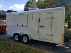 Gently Used 2016 Gatormade Food Concession Trailer in Great Working Condition fo