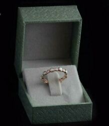1.75ct Round Cut Fire Opal 14k Rose Gold Finish Engagement Wedding Pretty Band