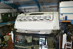 To Fit Mercedes Actros Mp4 Giga Space Cab Drop Down Roof Light Bar + Round Spots