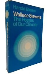Wallace Stevens: The Poems of our Climate - Harold Bloom - Cornell 1980 -