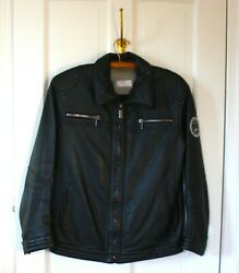 Porsche Design 75 Years Men's Leather Jacket - Limited Edition Size US Small