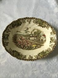 Johnson Brothers Friendly Village Made In England Oval Serving Bowls Set Of 3