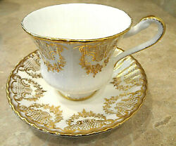 Paragon - By Appointment To Her Majesty The Queen - Bone China Tea Cup And Saucer