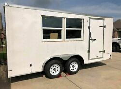 Very Clean and Never Used 8' x 16' Concession Trailer for General Use for Sale i