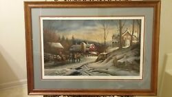 Terry Redlin Limited Edition Andldquocoming Homeandrdquo Ap 46/240 Signed Framed - Rare