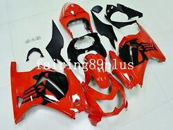 Red Black Punisher Abs Injection Fairing Kit Fit For Ninja 250r 2008-2012