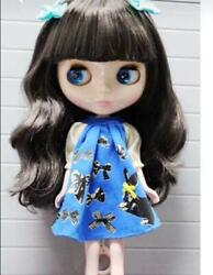 Icy Doll Joint Body Black Wavy Hair 4 Different Eyes Colours F/s From Japan