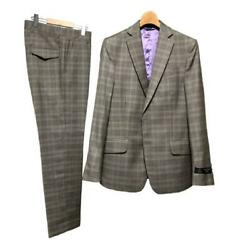 Vivienne Westwood Man Mens Suit Set Size 44 Wool Made In Italy Gray Used F/s