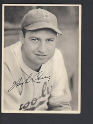Hugh Casey 1940-49 Brooklyn Dodgers Picture Pack Photo Card Light Color