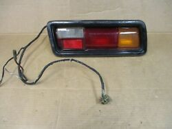 1977 1978 1979 Toyota Corolla Tail Light And Lens Trim 33-07102 12-65ar With Wire