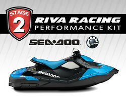 Seadoo Spark Stage 2 Kit 52+ Mph Riva Solas Sk-cd-12/14 And Maptunerx Brp Bundle