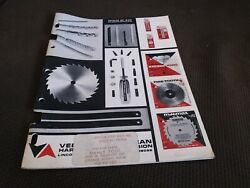 Vermont American Cutting Tools Catalog 1972 Saws Blades Taps And Dies