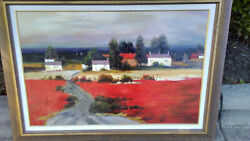 Fazzino Original Art Oil Painting On Canvas Hand Signed Limited Edition 45x33