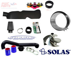 Seadoo Spark Pro-1 Stage Kit Riva Power Filter Free Flow Exhaust Solas Impeller