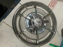 1963 Corvette Early Hubcap Wheel Cover Polished Outer Lip Is Perfect No Dings