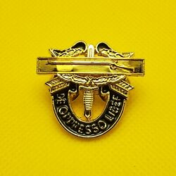 Special Forces Combat Infantry Badge Di Pin Army Airborne Sfg Cib Insignia Gold