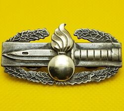 Ordnance Combat Action Badge Us Army Ord Corp Cab Insignia Military Medal Pin