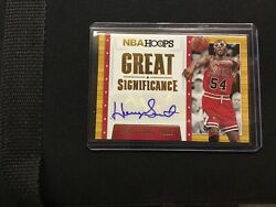 2014-2015 Panini NBA Hoops Great Signifcance Horace Grant Auto 1010