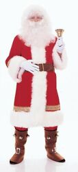 Rubies Super Deluxe Old Time Santa Suit Adult Christmas Holiday Costume 2356