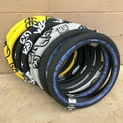 Federal Bmx Bike Command 20 X 2.40 Bicycle Tires Yellow Black Blue Camo Gray