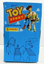 Full Box 1995 Toy Story Panini Italy Sealed Trading Card/stickers 100 Packs