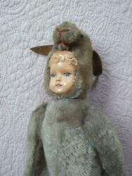 1870s Antique Doll Vintage Rare From Japan Antiques Teddy Bear F/s