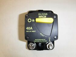 Blue Sea Circuit Breaker 50 Amp Surface Mount Switchable