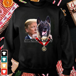 US Military Dog Hero K9 That Helped Take Down The Leader USA T-Shirt