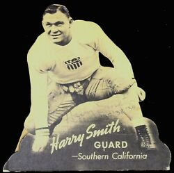 Rare 1938-39 Harry Smith, Usc, Catalina Sweaters Counter Stand-up W/back Easel