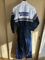 Rothmans Honda work tether Coverall Brand new FS from JAPAN