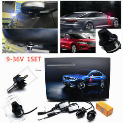 Universal Car Rearview Mirror Projection Lamp Door Welcome Red Light Ground