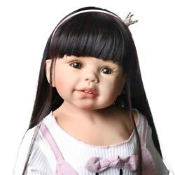 Reborn Baby Doll Full Silicone Vinyl Dolls 70cm Christmas Gift Toddler Toy 28and039and039