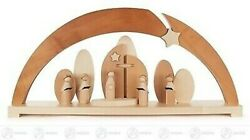 Candle Arches with Carolers Electric Illuminated (LED) Bxhxt = 62x29 New