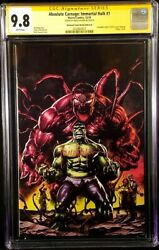 Marvel Absolute Carnage Immortal Hulk 1 Cgc Ss 9.8 Suayan Nycc Virgin Variant