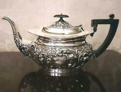 British Antique Teapot Sheffield Silver Plate F/s From Japan