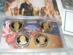 2008 United States Mint Presidential 1 Coin Proof Set/original Packaging W/coa