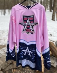 First Season Allen Americans Pink Breast Cancer Awareness Ice Hockey Jersey Chl