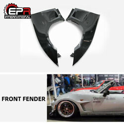 For Miata Mx5 Nd Nd5rc Roadster Gvn Style Frp Front Fender Mud Guards Addon Part