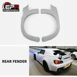 For Honda S2000 Ap1 Ap2 Sp Style Frp Wide Body Kit Rear Fender Addon Mud Guards