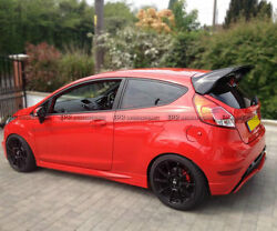 For Ford Fiesta St Facelift Rs-style Carbon Fiber Rear Roof Spoiler Wing Parts