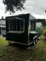 Fully Self-Sufficient NEW 2017 8.6' x 18' Concession Nation Food Trailer for Sal